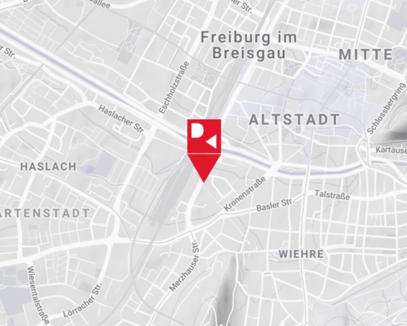 Anfahrt Freiburg